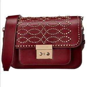 Michael Kors Sloan studded leather bag NEW